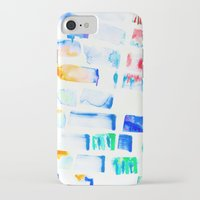 stripe iPhone & iPod Cases featuring Stripe by Amy Sia