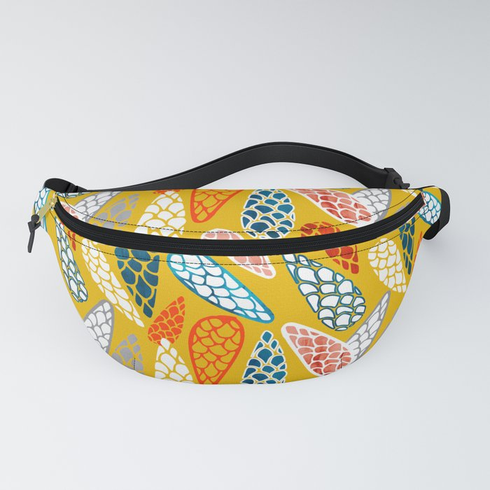 Colored Cone pattern Fanny Pack