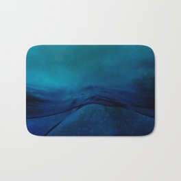 Storm Water #impressionism #abstract #moods #society6 Bath Mat