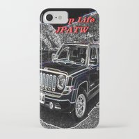 jeep iPhone & iPod Cases featuring JEEP JPATW by Dmarmol