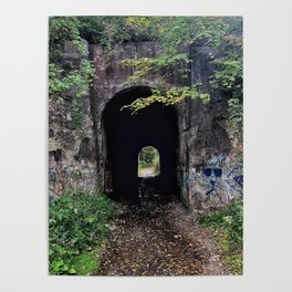 The Screaming Tunnel Poster