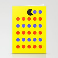 pacman Stationery Cards featuring Pacman by awesomephant