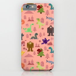 Cryptids of the PNW iPhone Case