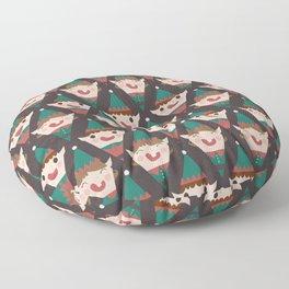 Santa's Little Helpers (Patterns Please) Floor Pillow
