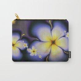 Petite Fleur Jaune Fractal Carry-All Pouch