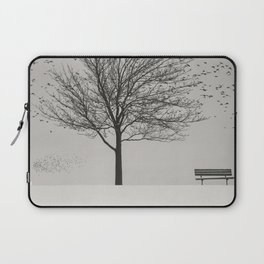 Feathered Branches Laptop Sleeve