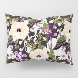 Flowery abstract garden Pillow Sham