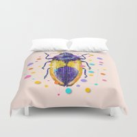 insect Duvet Covers featuring INSECT IX by dogooder