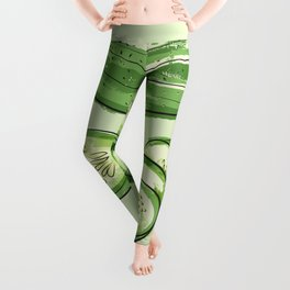 set of cucumbers Leggings