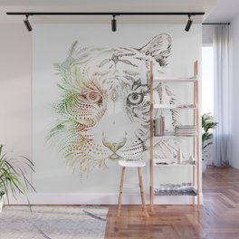 Sumatran Tiger VS Palm Oil Wall Mural