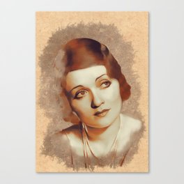Constance Bennett, Hollywood Legend Canvas Print