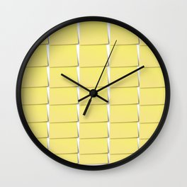 The Devil is in the detail: Post-it 2 Wall Clock