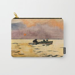Winslow Homer1 - Rowing Home - Digital Remastered Edition Carry-All Pouch