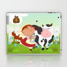 The milkmaid Laptop & iPad Skin