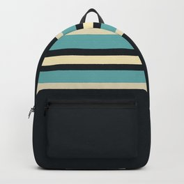 Fusahide - Classic 70s Retro Stripes Backpack