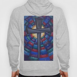 Cross Colorful Spike  Hoody