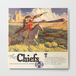 Vintage poster - The Chiefs Metal Print