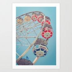 The Ferris Wheel 2 Art Print