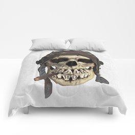 TALLY HO  (skull series 2 of 3) Comforters