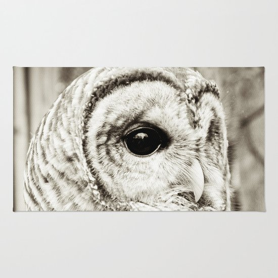 Wise Old Owl Rug