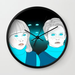 village of the damned Wall Clock