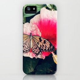Butterfly Crush iPhone Case