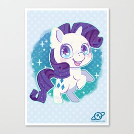 Rarity Canvas Print