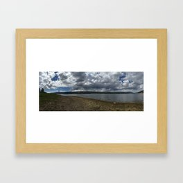 """""""A day on the Lake"""" Framed Art Print"""