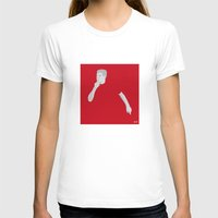 liverpool T-shirts featuring Steven Gerrard Liverpool FC by Mark McKenny