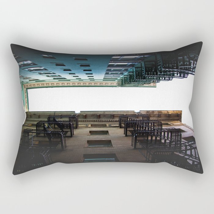 Alley Up Rectangular Pillow