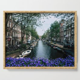 Charming Amsterdam Serving Tray
