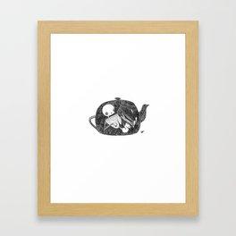 Teapot Animus Framed Art Print