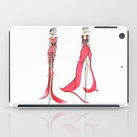 fashion illustration iPad Cases featuring Fashion Illustration by Anukriti Goswami