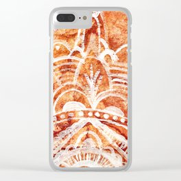 Drawn From Nature Clear iPhone Case