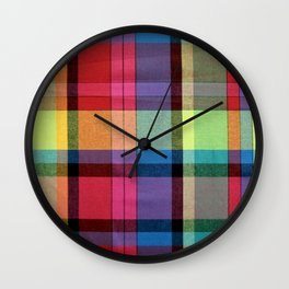 MADRAS Wall Clock