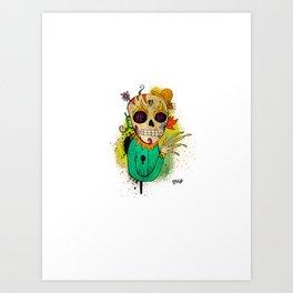 Calavera del Sur! Art Print
