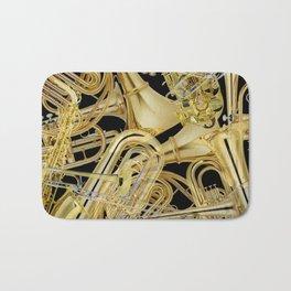 Brass Musical Instruments Bath Mat