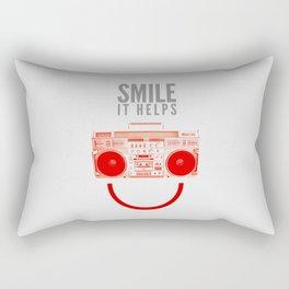Smile. It Helps. Rectangular Pillow