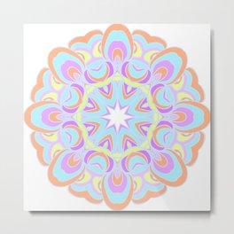 Abstract circle pattern Metal Print