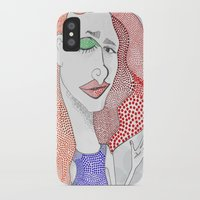 polka dot iPhone & iPod Cases featuring POLKA DOT by The Bravo Sisters Art