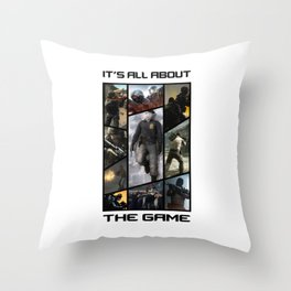 It's All About The Game CS:GO Throw Pillow