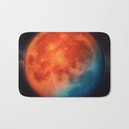 Super blue blood moon Bath Mat