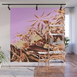 Chestnut Tree Impressions Wall Mural