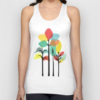tropical Tank Tops featuring Tropical Groove by Picomodi