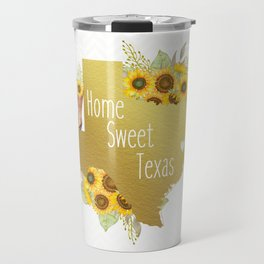 Home Sweet Texas Travel Mug
