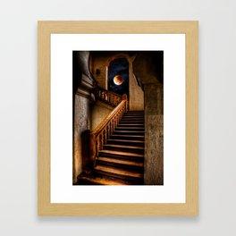 KTM Stairway Moon Framed Art Print