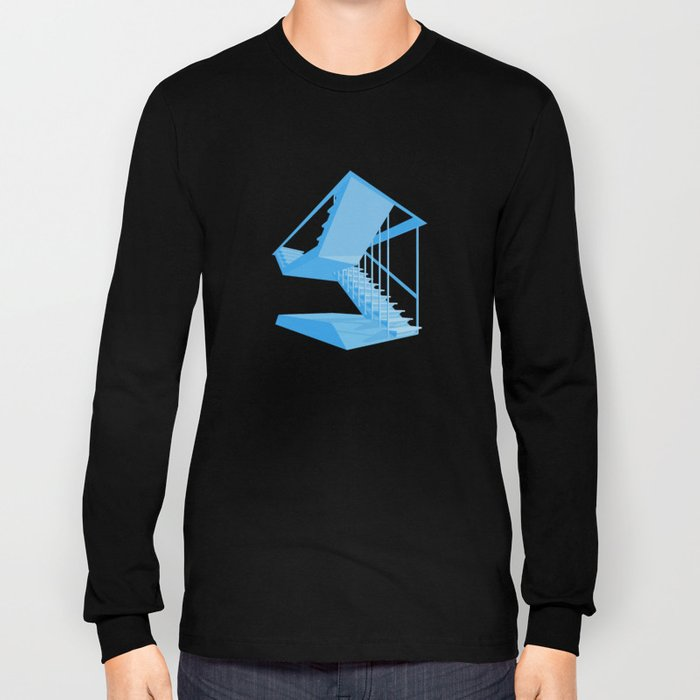 St. John's Stairs Long Sleeve T-shirt