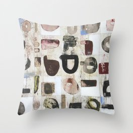 The Awkward Silence Throw Pillow