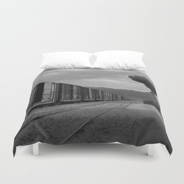 Nuke Train Duvet Cover