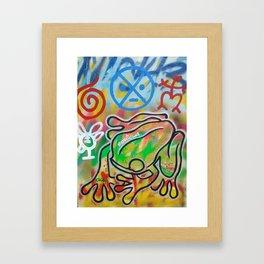 Coqui Framed Art Print
